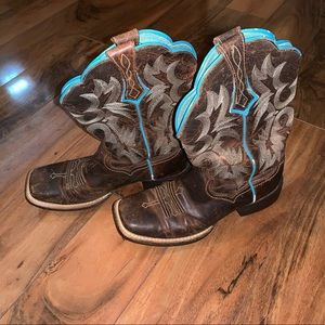 WOMEN'S Tombstone Western Boot square toe